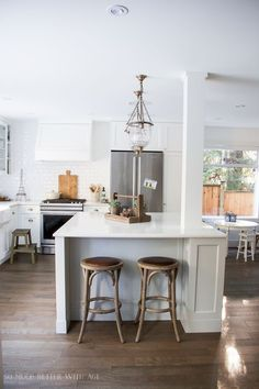 French vintage kitchen renovation/ My Big Beautiful Kitchen Renovation - Before and After Photos