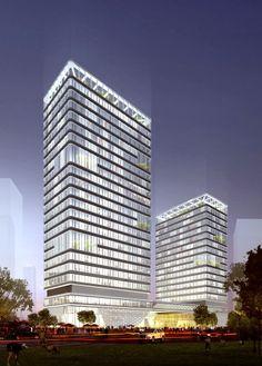 Inno Olympic Plaza / KSP Juergen Engel Architekten