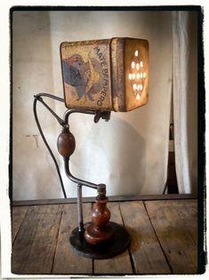 LAMPE CHIGNOLE  45cm