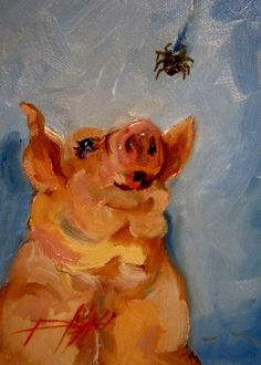 New Friends, painting by artist Delilah Smith