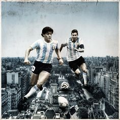 Legends together on Behance Neymar Football, Football S, Cristiano Ronaldo, Lionel Messi Wallpapers, Argentina Football, Family Tattoo Designs, Barcelona, Soccer, Collage