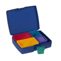 Laptop Lunch Bento Set 2.0: I had tried one for my eldest during kindergarten but the lids were too fiddly for little fingers. I still love the concept, though!