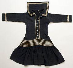 c.1882 Wool Dress | American | The Met
