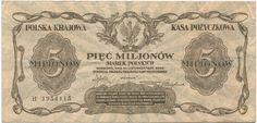 5000000 Marek Polskich 1923 Polen Zweite Republik
