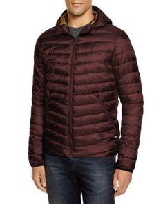 Scotch & Soda Hooded Nylon Quilted Puffer Jacket | Bloomingdale's