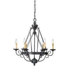 Buy the Eurofase Lighting Burnt Sienna Direct. Shop for the Eurofase Lighting Burnt Sienna Glasgow 6 Light Wrought Iron Candle Style Chandelier and save. Lighting Universe, Chandelier In Living Room, Chandelier Lighting, Chandeliers, Lamp Design, Wrought Iron, Light Up, Home Furnishings, Light Fixtures