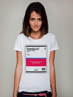 Camiseta Huck Feminina Tolerância - Feminino