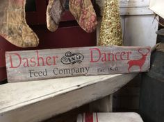 A personal favorite from my Etsy shop https://www.etsy.com/listing/579092765/primitive-dasher-and-danceer-feed