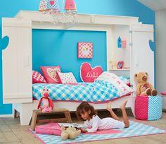 Bedstee Saar van lief!: geweldig bed om in te spelen en te slapen. Leuk te combineren met onze lief! woonaccessoires #kinderkamer #kidsroom #girlsroom