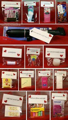 Jana& Craft World - Independent Stampin & Demonstrator: .- Janas Bastelwelt – Unabhängige Stampin' Up! Demonstratorin: Ehe-Notfallkoff Jana& Craft World – Independent Stampin & Demonstrator: Marriage emergency … - Diy Birthday, Birthday Gifts, Debut Ideas, Diy Gift Box, Diy Crafts For Gifts, Diy Presents, Little Gifts, Boyfriend Gifts, Wedding Gifts