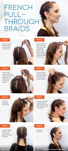 Want to sport those boxer braids celebs have been rockin' lately, but not the best at braiding? You'll get a similar look with these french pull-through braids — no actual braiding required!