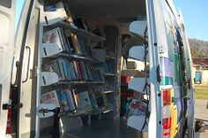 The Azusa CIty Library Bookmobile is stocked and ready to go!
