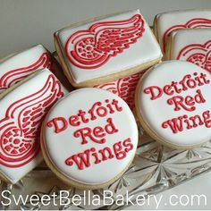 detroit red wings cupcakes - Google Search