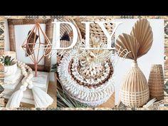 Home Goods Decor, Diy Home Decor Projects, Cool Diy Projects, Decor Crafts, Diy Crafts, Backyard Projects, Boho Diy, Bohemian Decor, Galvanized Decor