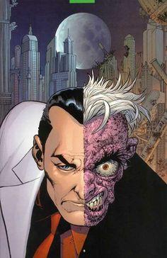 "artverso: ""John Cassaday - Two Face """