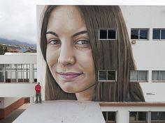 sabotaje al montaje, La Palma, Islas Canarias, graffiti, mural, Spray