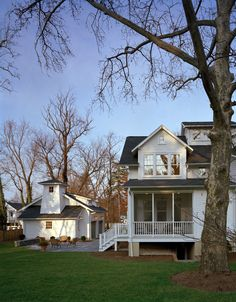 1920s clapboard cottage reno., Falls Church, VA. Moore Architects.