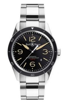 Bell & Ross BR 123 Vintage Mens watch, model number - BRV 123 Sport Heritage Bracelet, discount price of £1,680.00 from The Watch Source