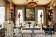 Take your first look at this year's D.C. Design House with 96 photos at 956 Mackall Farms Lane in McLean, VA. 24 design firms...