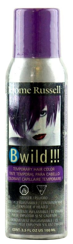 Jerome Russel Bwild Temporary Hair Color Spray - Panther Purple - 3.5 oz