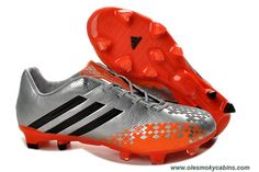 Adidas Predator LZ TRX FG Silver Orange Online 6491a1597