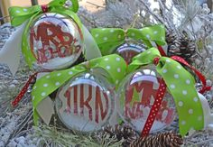 SO Beautiful! #PerfectGift #Gifts #Ornaments #Christmas #Xmas #Custom #BestGift   Customized Ornaments  by CBP