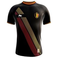 Great Belgium World Cup 2014 Away Soccer Jersey Shirt Black - Free Custom  Name   Number 85db9dd7a