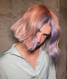 Hair Colour Design, Bold Hair Color, Hair Dye Colors, Short Blue Hair, Fantasy Hair Color, Color Fantasia, Creative Hair Color, Aesthetic Hair, Crazy Hair