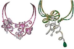 classic jewelry collection called Gaîté Parisienne from Boucheron