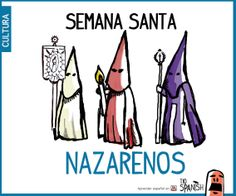 Los Nazarenos, celebración semana santa en Sevilla, fiestas de España
