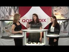 Emmy Award winning makeup artist Eve Pearl discusses Qosmedix PRO Brushes with Kelly Herrera and Sari Sternschein.