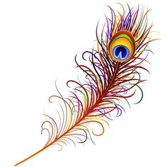 Piuma di Pavone-Peacock Feather-Vector Wall Mural ✓ Easy Installation ✓ 365 Day Money Back Guarantee ✓ Browse other patterns from this collection! Peacock Wings, Peacock Feather Tattoo, Feather Drawing, Feather Vector, Feather Art, Feather Tattoos, Peacock Feathers Drawing, Peacock Painting, Peacock Art