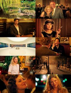 Midnight in Paris, such a wonderful film with beautiful cinematography.