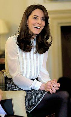 royalcatherine , katemiddletons: she's so cute ♡