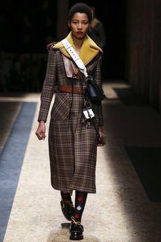 Lineisey Montero Prada FW16 Menswear