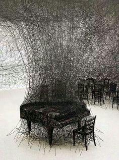 Silent ar installation by Chiaro Shirotain