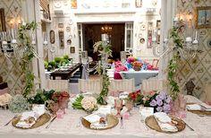Mesa de boda tipo en la era D.P. (después de Pinterest). © Getty Images