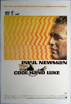 Cool Hand Luke Movie Poster It measures 24 x 36 inches. Poster is in Mint Condition ships rolled in a sturdy mailing tube. Cool Hand Luke is a 1967 American prison drama film directed by Stuart Rosenberg and starring Paul Newman. Cool Hand Luke, Iconic Movie Posters, Iconic Movies, Great Movies, Classic Movies, Cinema Posters, My Fair Lady, George Kennedy, Web Design