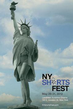 Eye catching event #advertising | New York International Short Film Festival 2012 Poster