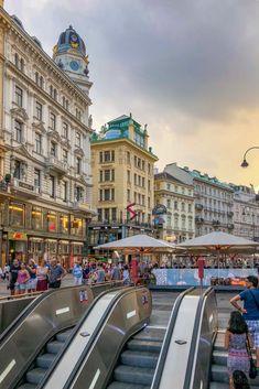 Places Around The World, Around The Worlds, Heart Of Europe, Shopping Street, Portugal, Vienna Austria, World Traveler, Luxury Travel, Vienna