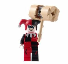 Harley Quinn - LEGO Batman Figure with HAMMER by LEGO. $21.83. Harley Quinn Lego Batman Minifigure. Exclusive to LEGO Set 7886 The Batcycle: Harley Quinn's Hammer Truck