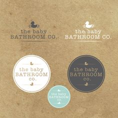 Create the logo for the baby bathroom co. Design by Gobbeltygook
