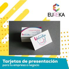 Causa la mejor impresión en tus clientes, con los mejores diseños, materiales y acabados para tus tarjetas de presentación.  Eureka, ¡más diseño, más alegría! 3255278/ 3147908139 Pereira.