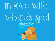 Who else is in love with Spot the Dog from the Where's Spot Series? Great books for working on a range of language and speech targets.