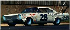 1965. Fred Lorenzen. 1965 Ford Galaxie. Daytona 500 Winners, Old American Cars, Ford Galaxie, Vintage Race Car, Nascar, Galaxies, Race Cars, Old School, Old Things