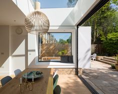 Room Tour: A Victorian Villa's Sensitive Yet Edgy Extension House Design, House, Open Plan Kitchen Living Room, House Inspiration, New Homes, House Interior, House Extension Design, Home Interior Design, Interior Design