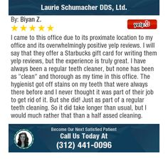 I came to this office due to its proximate location to my office and its overwhelmingly...