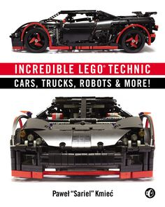 """Pawel """"Sariel"""" Kmiec's Incredible LEGO Technic: Cars, Trucks, Robots & More! is an inspiring gallery of amazing LEGO creations. Using the Technic system, and years of experience, Kmiec's work is stunning."""
