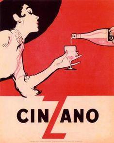Cinzano Drink Mid Century Modern Vintage Poster Vintage Art Print Retro Style Advertising Free US Post Low EU post by CharmCityPosters on Etsy Vintage Italian Posters, Pub Vintage, Vintage Advertising Posters, Vintage Advertisements, Wine Advertising, Vintage Fonts, Advertising Campaign, Vintage Designs, Half Elf