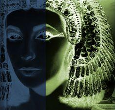 Cleopatra, Isis Bird Woman